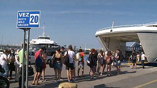 Touristinnen und Touristen sind zurück in Kroatien