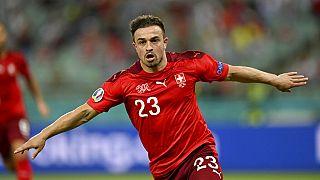 Xherdan Shaqiri schoss gegen die Türkei gleich zwei Tore für die Schweiz