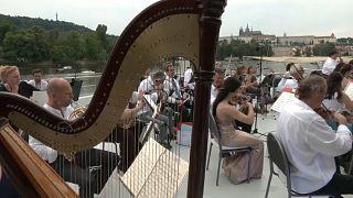 Concierto del Teatro Nacional checo a bordo del Bella Bohemia, 20/6/2021