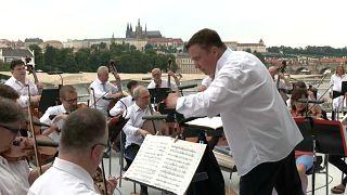 Konzert auf der Moldau