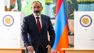 نیکول پاشینیان، نخست وزیر ارمنستان