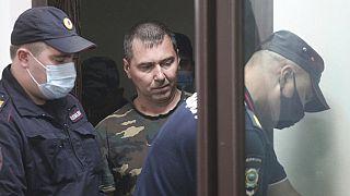 Verdächtiger, der bei Nischni Nowgorod festgenommen wurde