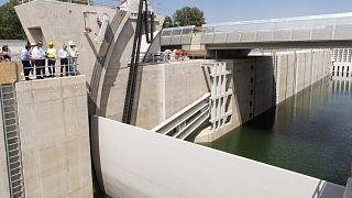 Építkezés a Mosoni-Duna torkolati szakaszán