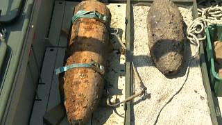 القنبلة التي تم العثور عليها