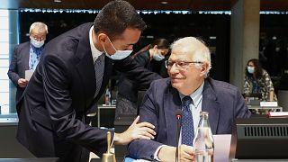 EU's high representative Josep Borrell chair the meeting in Luxembourg.