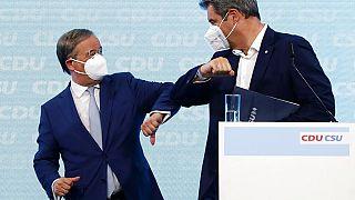 La pace armata fra il candidato cancelliere Laschet e il coprotagonista Söder