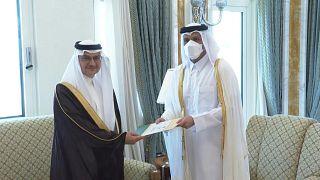 السعودية نيوز |      شاهد: أول سفير سعودي في قطر بعد إعادة العلاقات بين البلدين