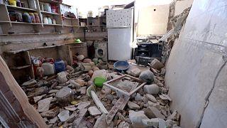 آثار قصف النظام السوري الدامي على جنوب إدلب