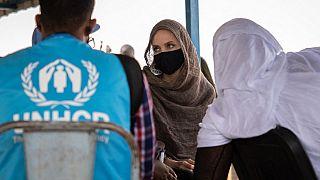 Burkina Faso : Angelina Jolie au chevet du camp de réfugiés de Goudebou