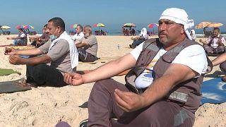 اليوم العالمي لليوغا - غزة