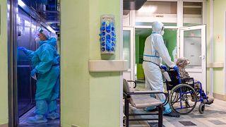 Пациенты с Covid-19 в Москве