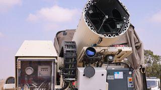 İsrail'in 'Light Blade' lazer savunma sistemi