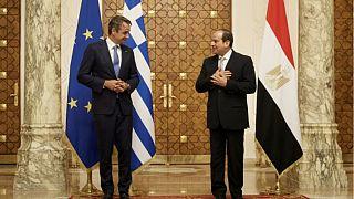 Miçotakis ve el-Sisi