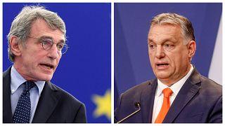 David Sassoli EP-elnök angolul és olaszul is reagált Orbán szavaira