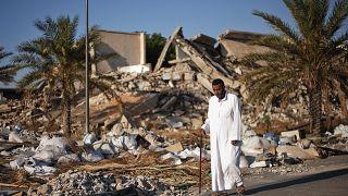 Libye : l'ancien quartier général de Kadhafi habité par des familles
