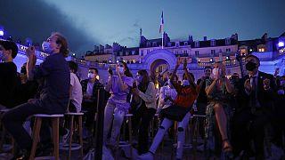 Fête de la Musique im Elysee Palast in Paris - dem Amtssitz von Emmanuel Macron