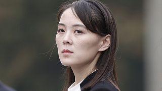 Kuzey Kore Devlet Başkanı Kim Jong Un'un kız kardeşi Kim Yo Jong