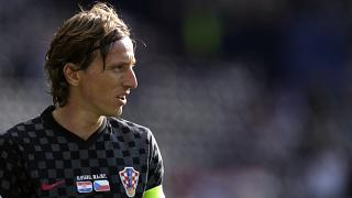 Croatia's Luka Modric during their Euro 2020 group D match against the Czech Republic in Glasgow, June 18, 2021.