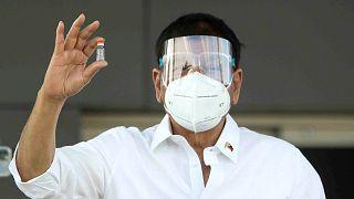 Filipinler Devlet Başkanı Duterte