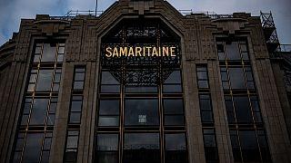 """Archives : façade de """"La Samaritaine"""" à Paris, le 19/11/2019"""