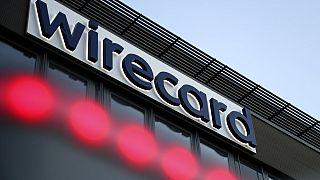 Logo von Wirecard in München, 20.07.2020