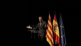 İspanya'nın Barselona kentinde konuşma yapan Başbakan Pedro Sanchez