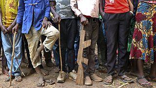 Güney Sudan'da eski çocuk askerler (Arşiv)