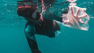 ضایعات پلاستیکی در اقیانوس