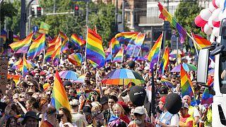 Pride Parade in Polen - Symbolbild zum Streit um die Regenbogenfarben