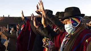 Saludo al sol del Año Nuevo Andino