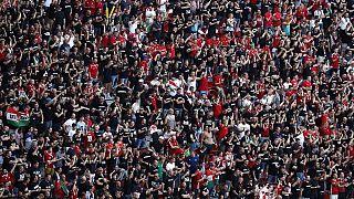 Macaristan Portekiz maçında Macar taraftarlar