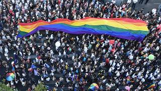 Pride Parade in Budapest (2019)