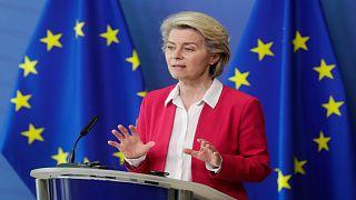 رئيسة المفوضية الأوروبية أورسولا فون دير لاين