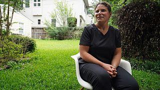 Covid-19 aşısı olmayı reddeden sağlık çalışanı Jennifer Bridges