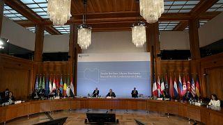 افتتح وزير الخارجية الألماني هايكو ماس المؤتمر