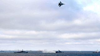 Tavalyi felvétel: orosz hadgyakorlat a Fekete-tengeren, a Krímnél