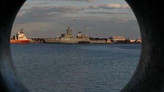 Эсминец «Дефендер» ВМС Великобритании
