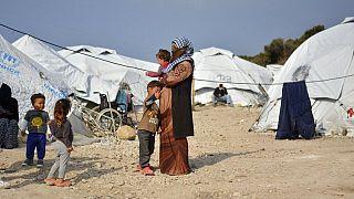 Asylum seekers; Karatepe; Lesvos