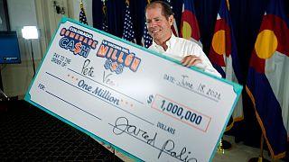 جایزه یک میلیون دلاری بختآزمایی برای تشویق به زدن واکسن در ایالت کلرادو