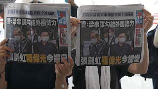 "Jornal ""Apple Daily"" - Hong Kong"