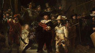 """""""A Ronda da Noite"""" de Rembrandt recupera tamanho original"""