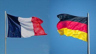Fransa - Almanya bayrakları
