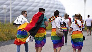 Vor dem EM-Spiel Deutschland-Ungarn in München