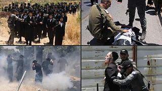لقطات من المظاهرة