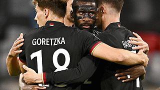 Leon Goretzka beim Spiel gegen Ungarn