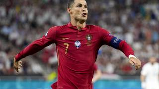 Ronaldo fired up after goal against France