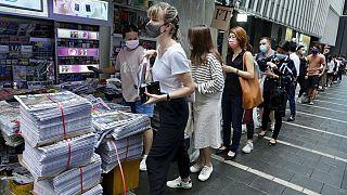 Χονγκ Κονγκ: «Λουκέτο» για την Apple Daily