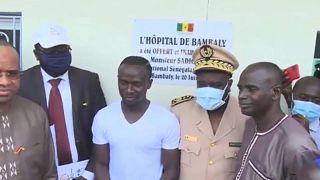 Sénegal : Sadio Mané offre un hôpital à son village de Bambaly