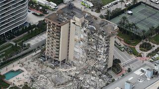 انهيار برج سكني في ميامي يوقع ضحية واحدة عى الأقل
