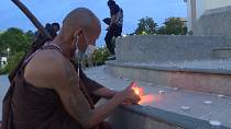 Thai protesters hold candlelight vigil to mark Siamese Revolution anniversary